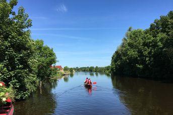 Kanutour von Rorichum nach Emden