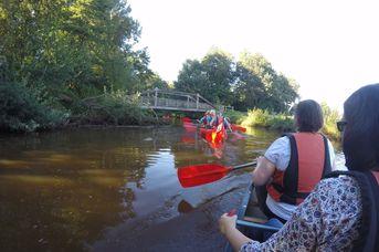 Kanutour von Strücklingen zum Maiglöckchensee