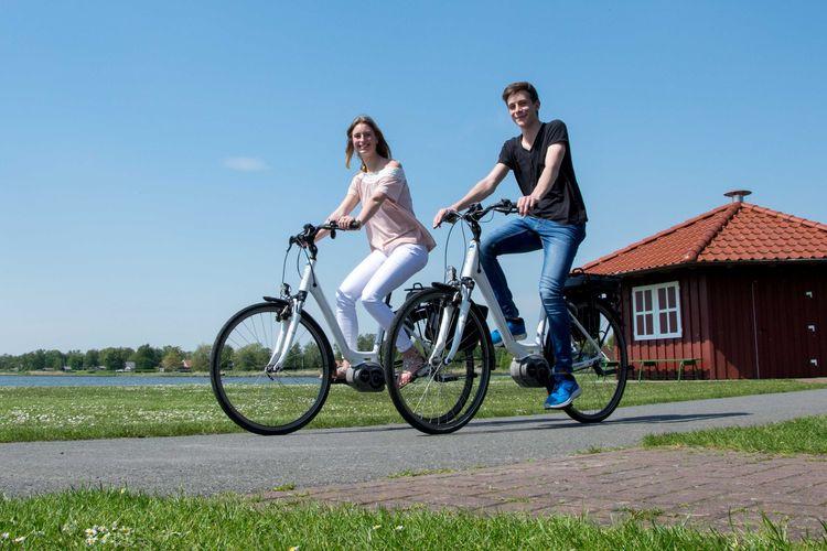 Sportlich aktiv - Fahrradfahren