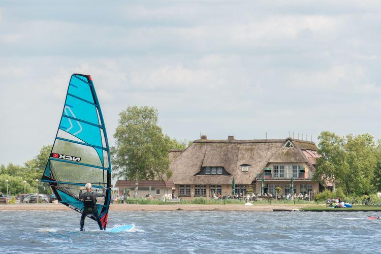 Sportlich aktiv - surfen