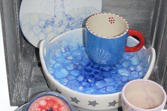Keramikmalkurs am Großen Meer