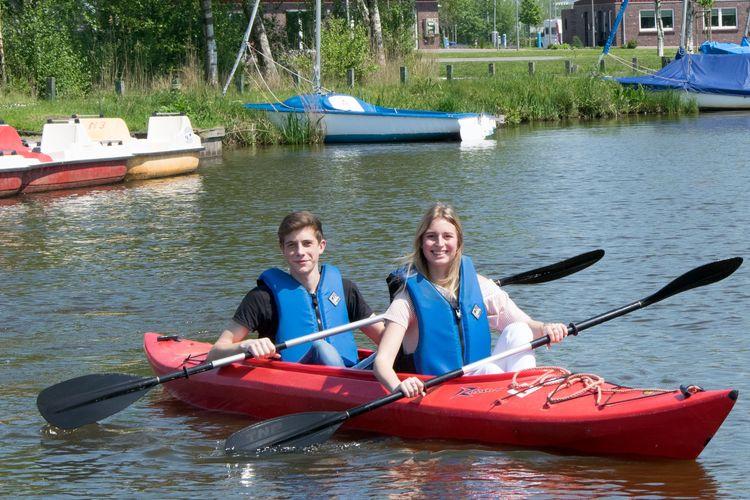 Sportlich aktiv - paddeln